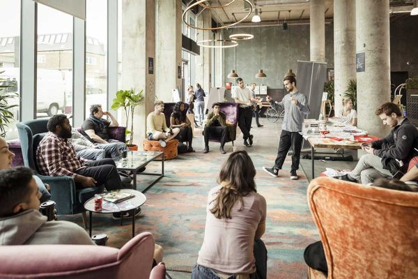 Coliving - Wohnliche kreative Trends