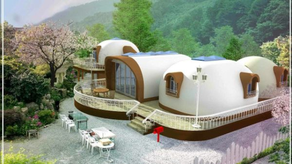 Dome House moderneTraumhaus Ideen