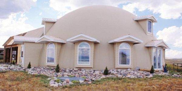 tolle Raumgestaltung - moderne Dome House Ideen
